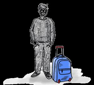 Schultaschen mit Rollen