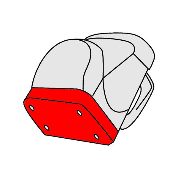 Bodenplatte Unterboden Schulranzen