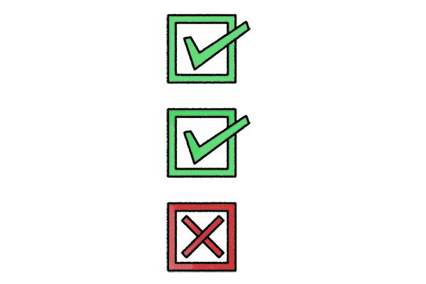 Checkliste Schulrucksack