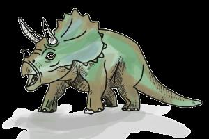Dino Dinosaurier T-Rex Schulranzen Motiv