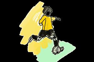 Dortmund Fussball Schulranzen Motiv