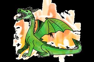 Drache Dragons Schulranzen Motiv