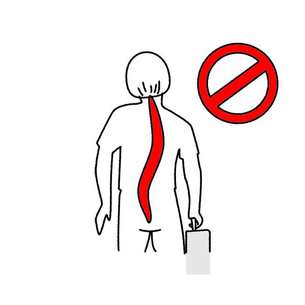 Fehlbelastung durch Tragen der Schultasche mit einer Hand