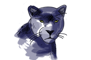 Panther 2 Schulranzen Motiv