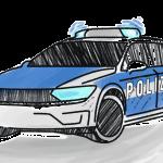 Polizei Schulranzen Motiv