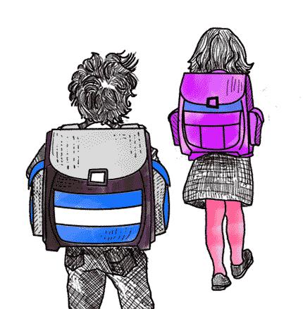 Schulranzen für die Grundschule