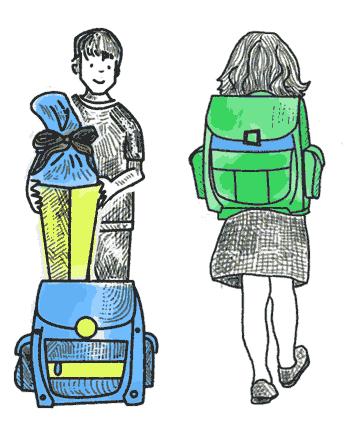 Der richtige Schulranzen fürs Kind in der Grundschule