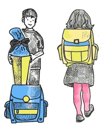 Schulranzen für kleine Kinder