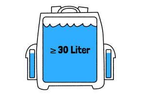 Große Modelle ab 30 liter